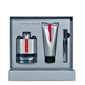 PRADA Luna Rossa SET 100 ML apa de toaleta + 100 ML gel dus + 10 ML apa de toaleta