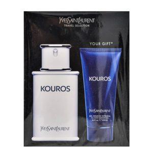 Parfum Yves Saint Laurent Kouros SET 100 ML apa de toaleta + 100 ML Gel Dus