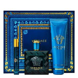 Parfum Versace Eros SET 100 ML apa de toaleta + 150 ML Gel Dus + 10 ML apa de toaleta