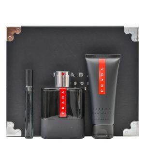 Parfum PRADA Luna Rossa Carbon SET 100 ML apa de toaleta