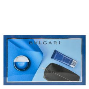 Parfum Bvlgari Aqva Atlantique SET 100 ML apa de toaleta + 100 ML After Shave + Gentuta Cosmetice