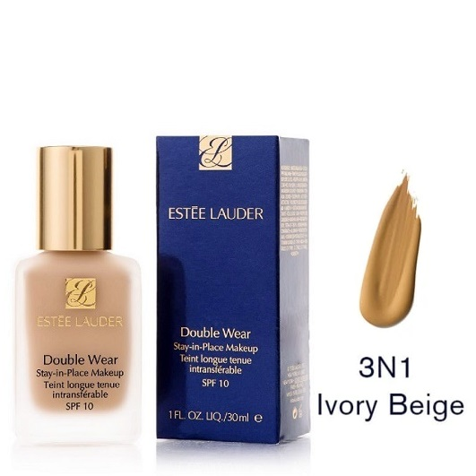 Estee Lauder Double Wear Stay In Place Makeup 3N1 Ivory Beige