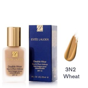Estee Lauder Double Wear Stay In Place Makeup 3N2 Wheat