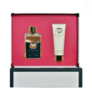 Parfum Gucci Guilty Pour Femme SET 50 ML apa de parfum + 50 ML lotiune de corp