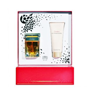 Parfum Cartier La Panthere SET 50 ML apa de parfum + 100 ML lotiune de corp